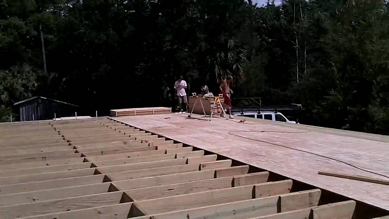 Beach house construction YouTube