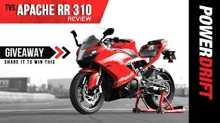 TVS Apache RR 310 First Ride Review : The New Contender? +Giveaway! thumbnail