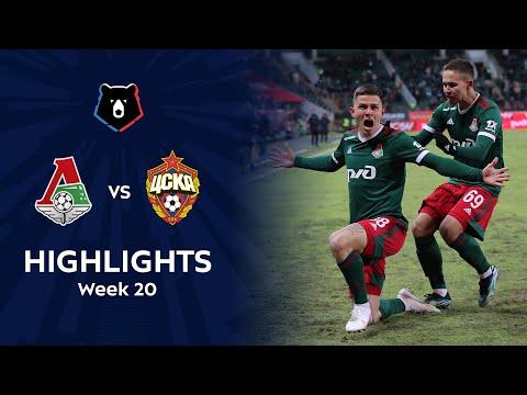 Lokomotiv Moscow CSKA Moscow Goals And Highlights