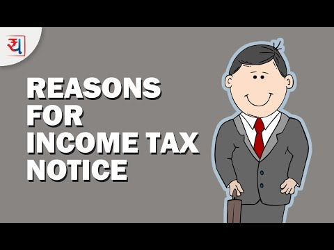 9 Common Reasons for getting Income Tax Notice   How to avoid a Tax Notice?   Yadnya Investment
