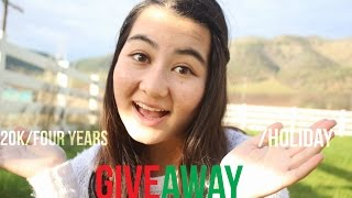 20k/ Four Years on YT/ Holiday (CLOSED) {GIVEAWAY!}