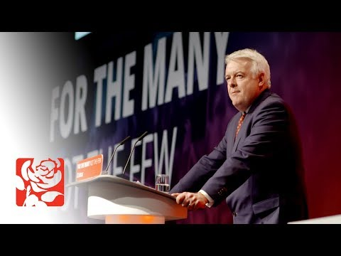 Carwyn Jones's Speech to Labour Conference