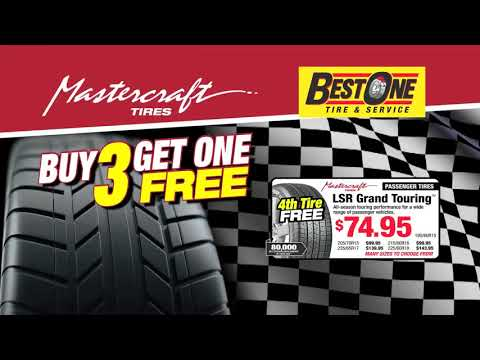Best One Tire Service Mastercraft Tires Buy 3 Get 1 Free Youtube