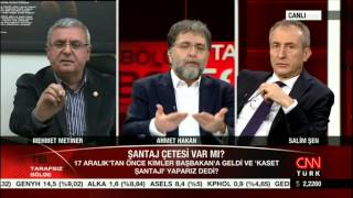 Mehmet Metiner sorulara cevap veremiyor..