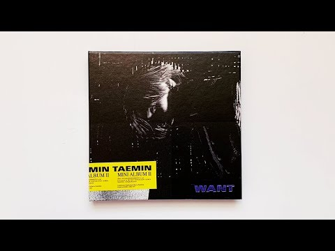 A Historic Unboxing of TAEMIN 태민 2nd Mini Album WANT (Want Ver) Mp3