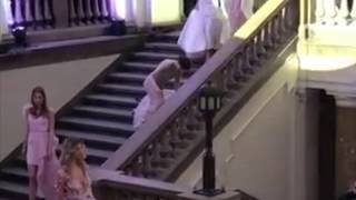 Model in wedding dress FALLS down during INES Atelier Bridal 2018-19 Haute Couture