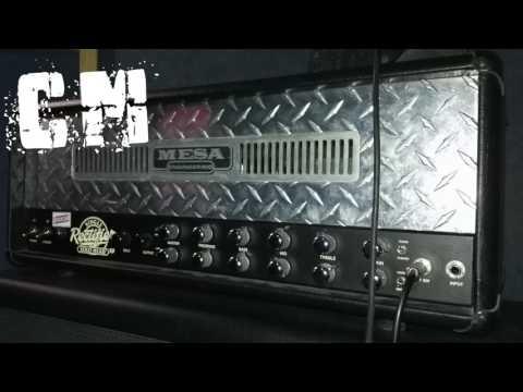 Metal Guitar Backing Track in C Minor (156 bpm)