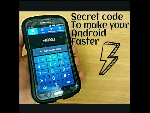 Secret code makes your android faster works 100%