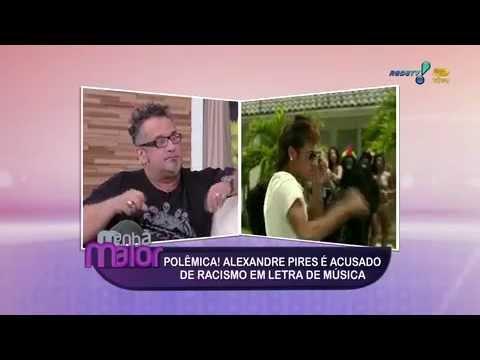 Regis Tadeu  de Alexandre Pires não é racista mas apenas uma merda ridícula Rede Tv