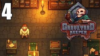 Exploring the Dungeon! - Graveyard Keeper Gameplay - Part 4