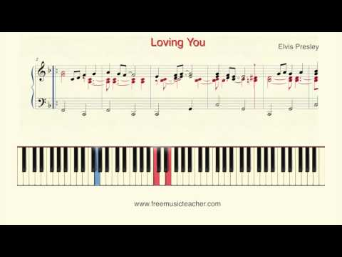 "How To Play Piano: Elvis Presley ""Loving You"" Piano Tutorial by Ramin Yousefi"