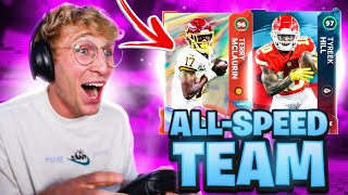 The NFL All-Speed Team!