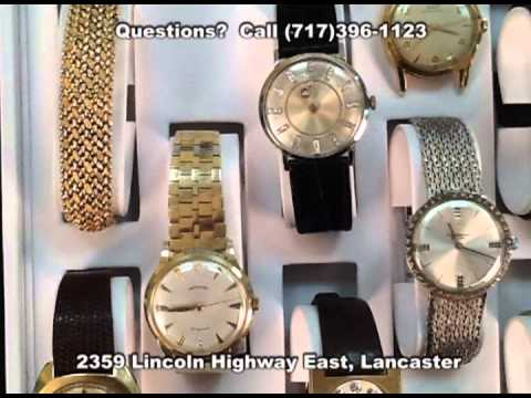 Wrist Watch Buyers Dealers (Lancaster PA) Veleska Jewelry Gold Wrist Watches Any Condition