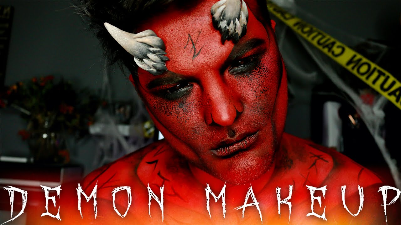 Demon Halloween Makeup Tutorial | 31 Days of Halloween ...
