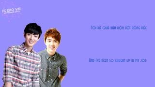 [Vietsub] EXO (Chanyeol x D.O.)_Love Yourself (Justin Bieber) [Color Coded Lyric]