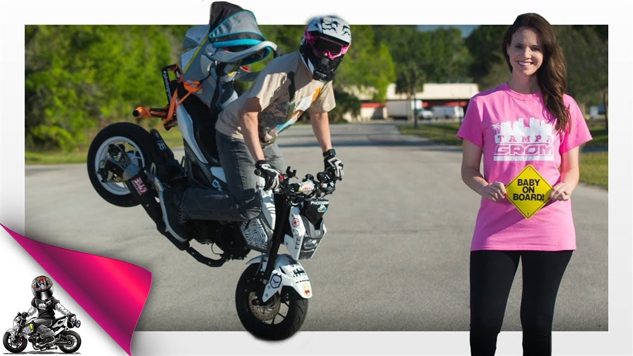 Honda Grom Pregnancy Announcement