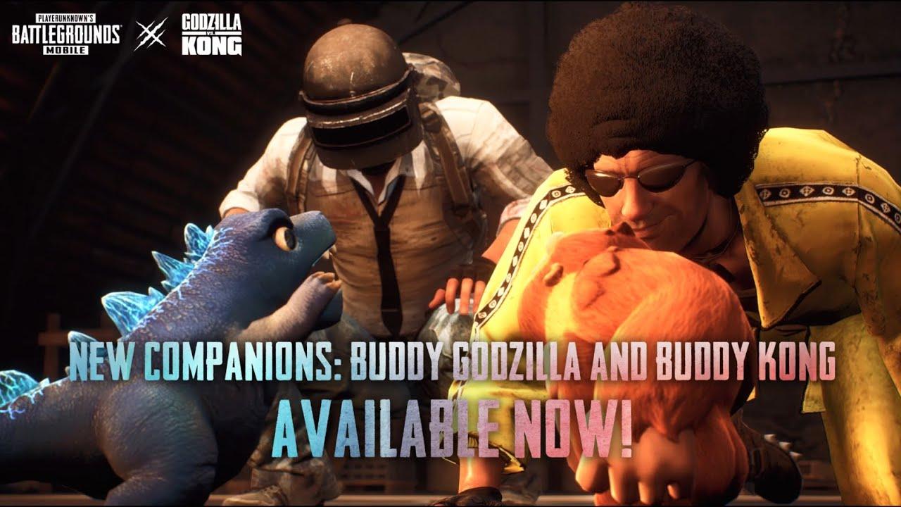 PUBG MOBILE | Meet Buddy Godzilla and Buddy Kong!