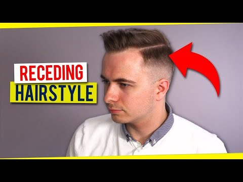 How to Style a Receding Hairline - Secrets of the Best Thin Hair Style for Men