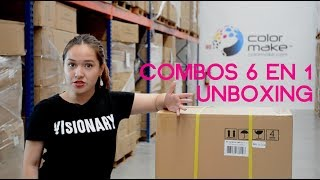 Combo 6 en 1 de Color Make™ - Unboxing-