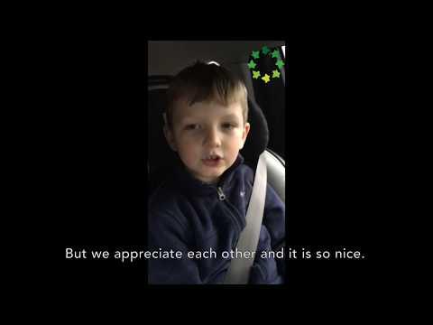 Pine Street School 1st Grader Sings in Mandarin