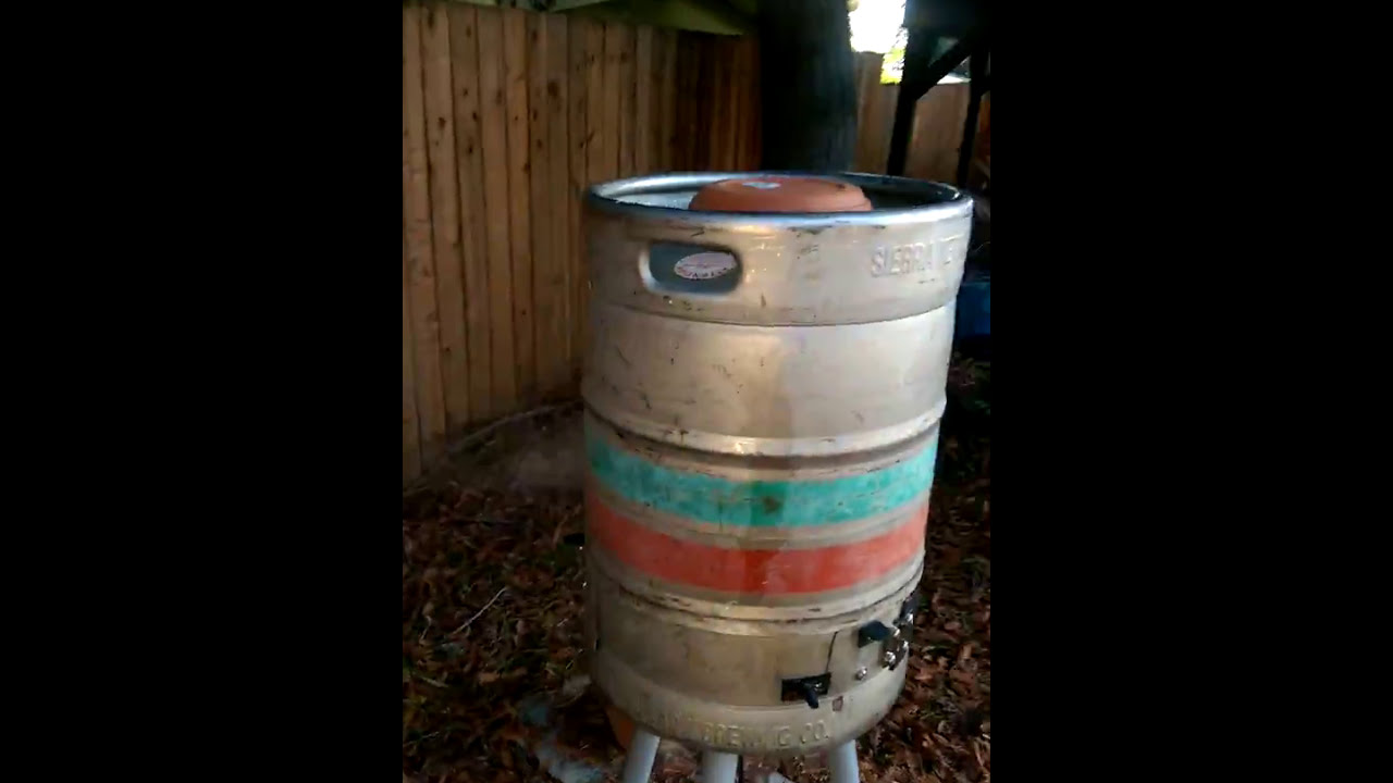 how to use a keg