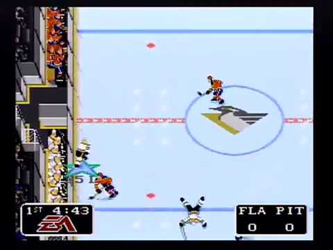 Let's Play: NHL '94 Florida vs Pittsburgh LIVE STREAM