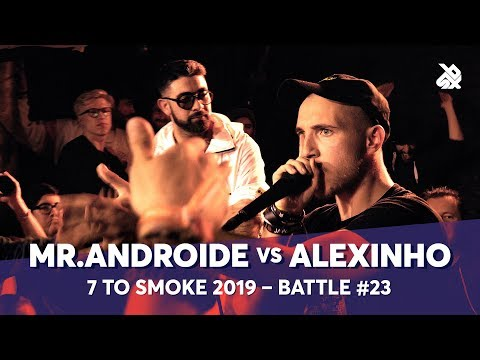 MR.ANDROIDE Vs ALEXINHO | Grand Beatbox 7 TO SMOKE Battle 2019 | Battle 23