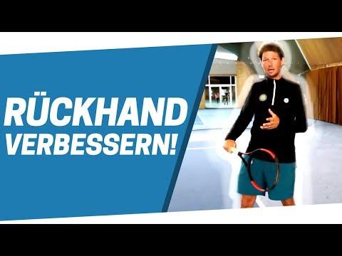 Tennis Rückhand - In 3 Schritten zu einer besseren Rückhand!