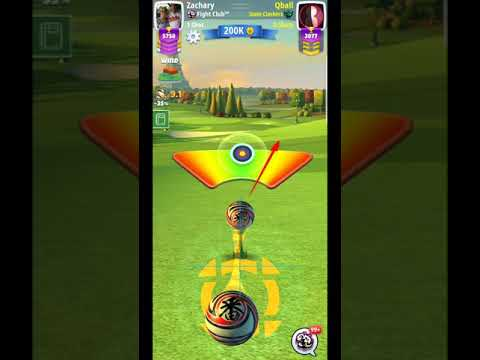 Golf Clash City of Light Hole 3_ EXPERT Advanced bags