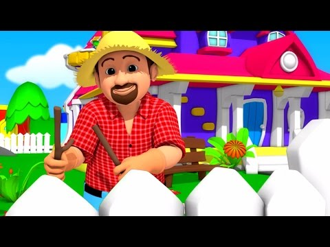 Luke & Lily - This Old Man | 3D Nursery Rhymes | Songs For Children | Video For Kids