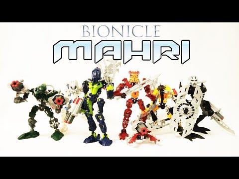 Обзор на BIONICLE - Тоа Мари/Toa Mahri (8910-8915)