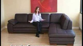 Leather Sectionals and Sofas