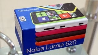 Nokia Lumia 620 unboxing and review