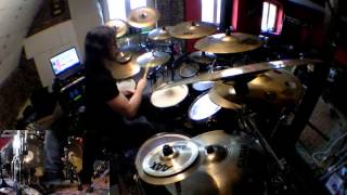Belphegor - In Blood Devour This Sanctity (drum cover)