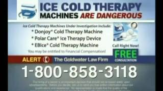 Goldwater Law Firm: Ice Cold Therapy Machines
