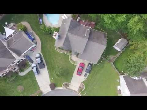 Drone View Of Cary, NC
