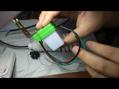 Cara Pemasangan Sensor Cahaya Atau Photo Cell