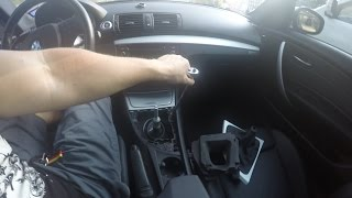BMW 135I INTERIOR TRIM REMOVAL/INSTALLATION (part 1)