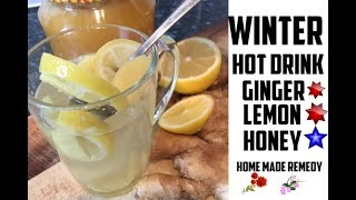 How To Prepare Yourself For The Winter.Lemon Ginger Honey | Chef Ricardo Cooking
