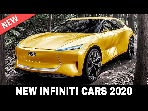 9 New Infiniti Cars Introducing Brave Designs and Innovative Electrified Drivetrains in 2020