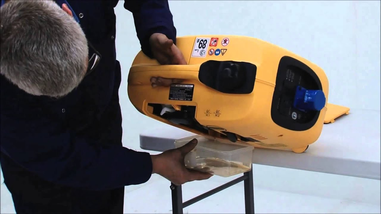 Oil Change on Kipor Suitcase Generator (IG1000P, IG2000P, IG2600P)