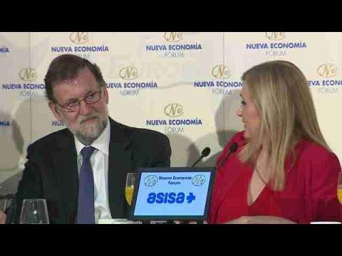 """Cifuentes asegura haberse sentido """"arropadísima"""" por """"todo el PP"""" y por Rajoy"""