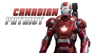 Transform Iron Patriot into Canadian Patriot - Photoshop Tutorial