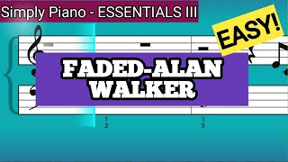 Download lagu Simply Piano| Faded |Essentials III |Piano Tutorial