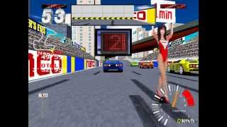 Ridge Racer 2 (Arcade) - Intermediate gameplay 60 fps