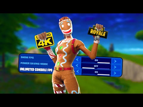 How To Get UNLIMITED FPS FORTNITE Console Xbox/PlayStation/Switch