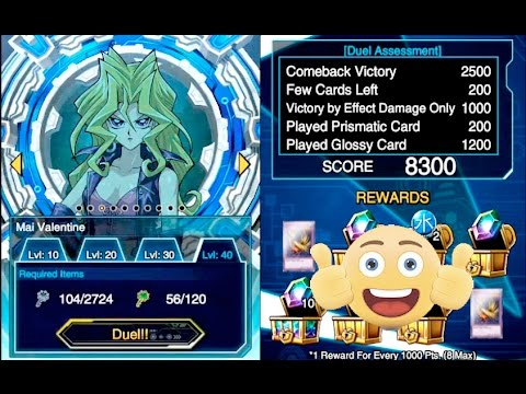 Lets Farm Mai Valentine LVL 40 With Cerberus & Vessel: Yu-Gi-Oh! Duel Links