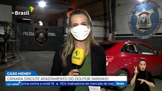 Câmara de Vereadores do Rio discute afastamento de Doutor Jairinho