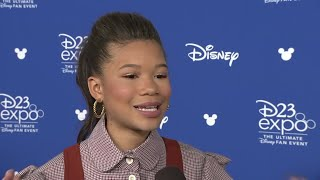 Storm Reid shares best advice from Oprah Winfrey