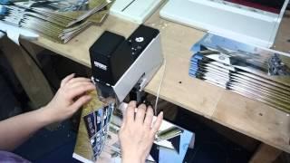 Сборка брошюр на 2 скобы, Rapid - 106, типография Авалон-принт, Киев(, 2015-05-26T09:21:02.000Z)